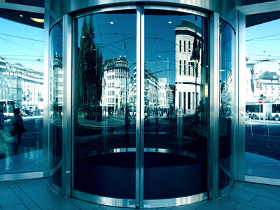 Commercial Steel Entry Door