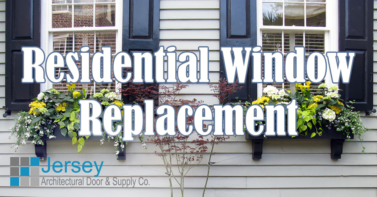 Residential window replacement jersey architectural door for Residential window replacement