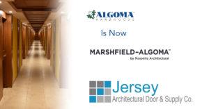 Algoma Hardwoods Inc. is now Marshfield-Algoma by Masonite Architectural