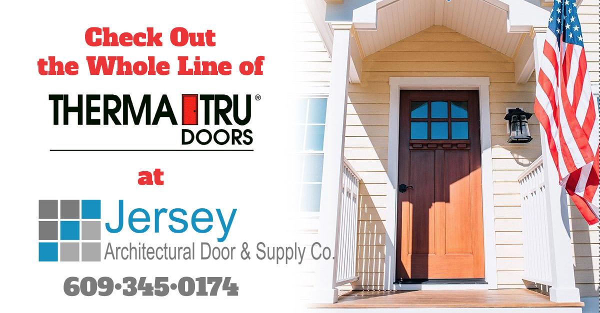 Therma Tru Residential Exterior Doors Jersey Architectural Door Supply