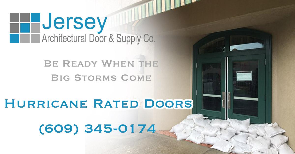 Hurricane Rated Exterior Doors Jersey Architectural Door