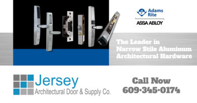The Leader in Narrow Stile Aluminum Architectural Hardware