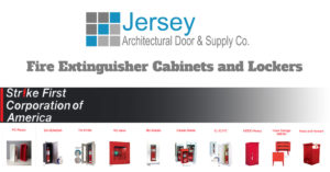 Strike First Fire Extinguisher Cabinets