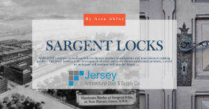 Sargent Locks by Assa Abloy