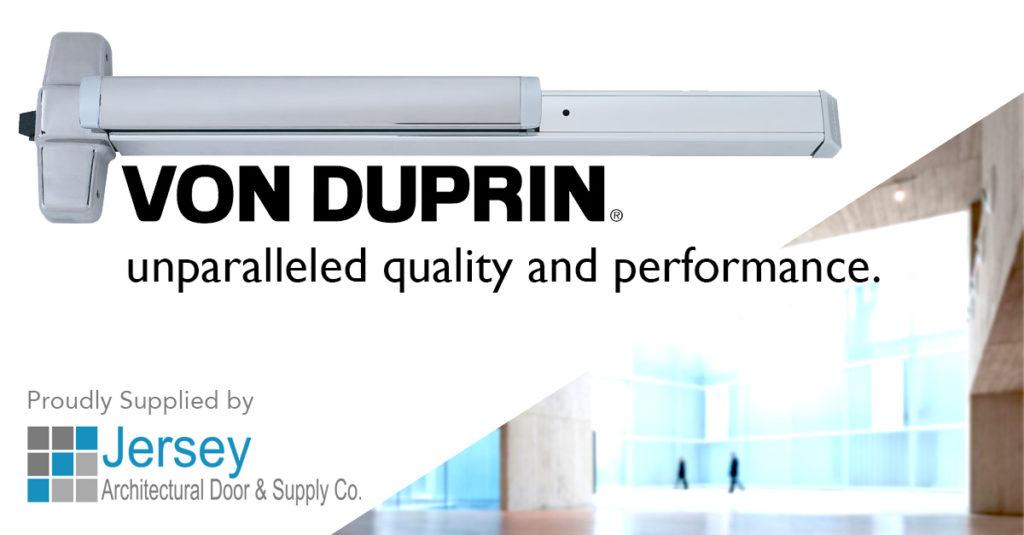 Von Duprin Exit Devices